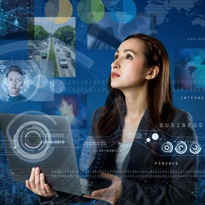 Professional lady digital dream